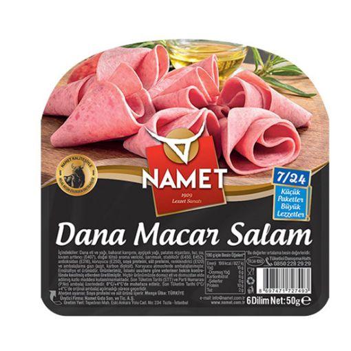 Namet Salam Macar 50 Gr  Dana resmi