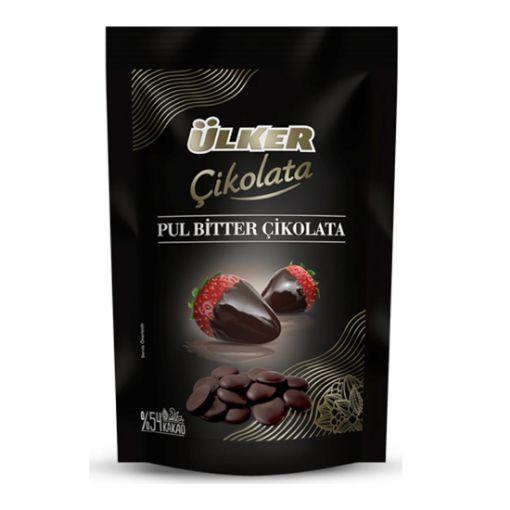 Ülker Pul Bitter Çikolata 120 Gr resmi