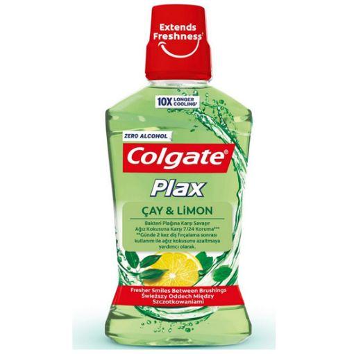 Colgate Plax Ağız Bakım Suyu Çay Ve Limon 500Ml resmi