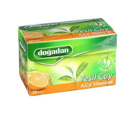 Doğadan Yeşil Çay A-C-E Vitaminli 20 Li resmi