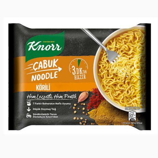 Knorr Çabuk Noodle Korili 66 Gr resmi