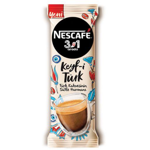 Nescafe 3 Ü 1 Arada Keyf-İ Türk 18.5 G resmi