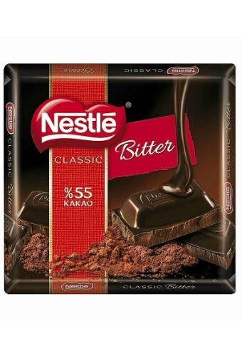 Nestle 1927 %60 Kakaolu Bitter Kare Çikolata 65G resmi