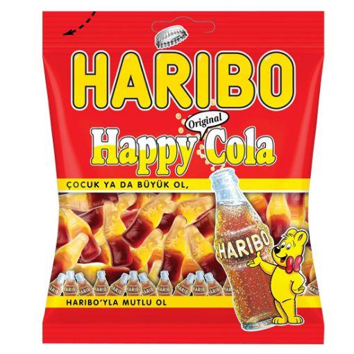 Haribo Jelly Happy Cola 160 Gr resmi