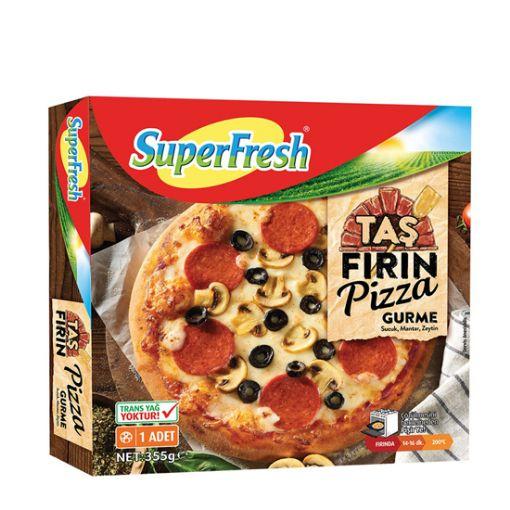 Superfresh Taş Fırın Pizza Gurme 355 Gr resmi