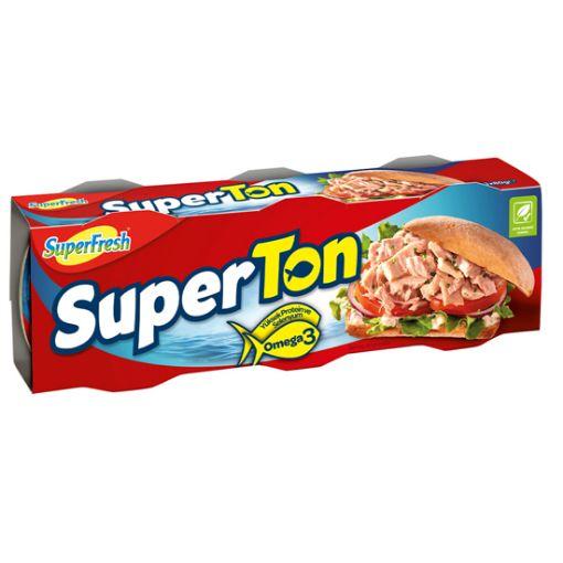 Superfresh Ton Balığı 4 X 80Gr. Klasik resmi