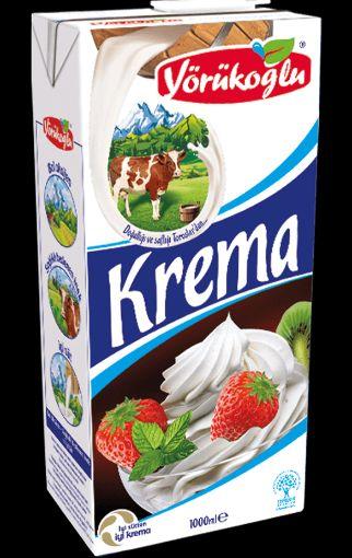Yörükoğlu Krema 1 Lt resmi