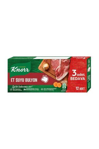 Knorr Bulyon 120 Gr Et 12 Adetlı 3551 + resmi