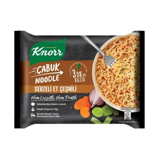 Knorr Cabuk Makarna 66 Gr Sebzelı Et Cesnı 7038 resmi