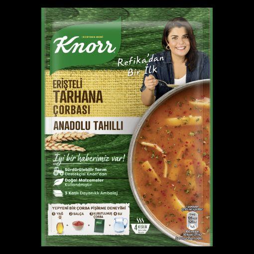 Knorr Y. Refika Erişteli Tarhana Corbası 75 Gr. resmi