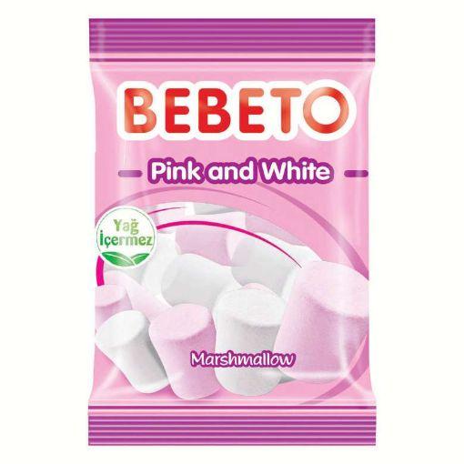Bebeto Pink White 70 Gr resmi