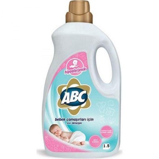 Abc Sıvı Deterjan Bebek 25 Yıkama 1500 Ml resmi