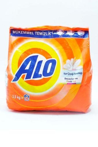 Alo Çamaşır Deterjanı 1.5 Kg Kar Çiçeği resmi