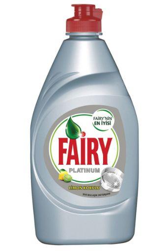 Fairy Bulaşık Deterjanı Platınum 500 Ml Limon resmi