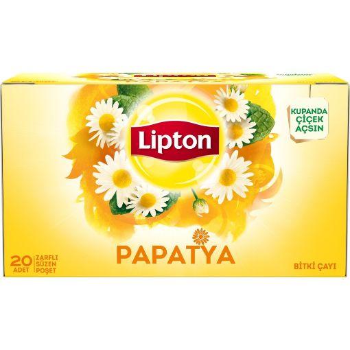 Lipton Bitki Papatya 20 Li resmi