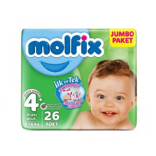 Molfix 3D Maxiplus 4+ 26 Adet Jumbo Paket resmi