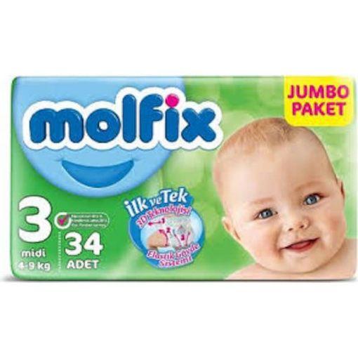 Molfix Jumbo Paket 4-9 Kg 34 Adet resmi