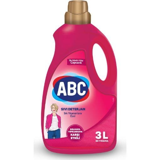 Abc Sık Yıkananlar 3 Lt Sıvı Çamaşır Deterjanı resmi