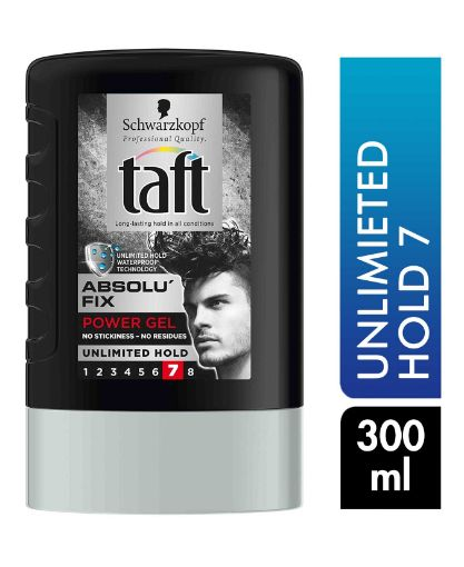 Taft Mega Absolutefix Black Saç Jölesi 300 Ml resmi