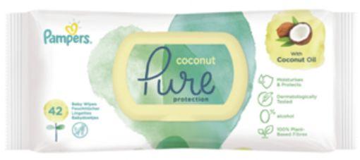 Prima Pampers Islak Havlu 42 - Lı  Coco Pure resmi