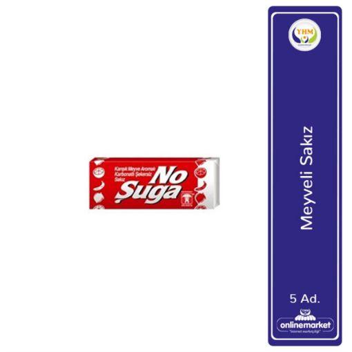 Bebeto Sakız Nosuga 5 Lı Tropıkal 140 Gr 2068 resmi