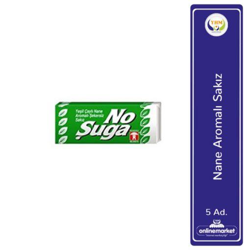 Bebeto Sakız Nosuga 5 Lı Yesılcay-Nane 140 Gr 2069 resmi