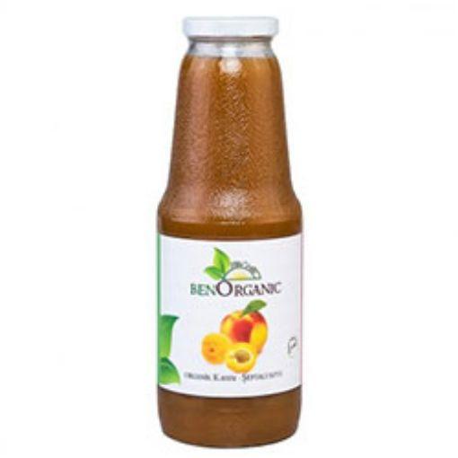Benorganic Organik Kayısı Şeftali Suyu 1Lt %100 Meyve Suyu resmi