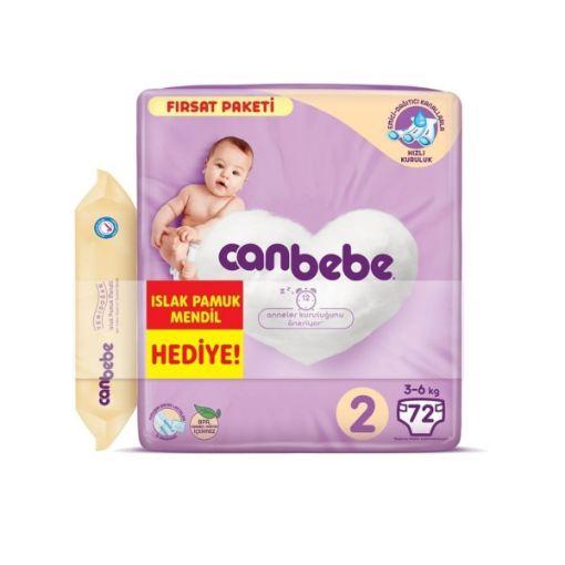 Canbebe Fırsat Paket 2 Mını 72- Lı resmi