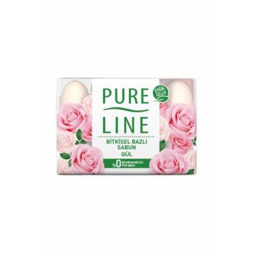 Pure Lıne Guzellık Sabunu 4X70 Gr Gul resmi