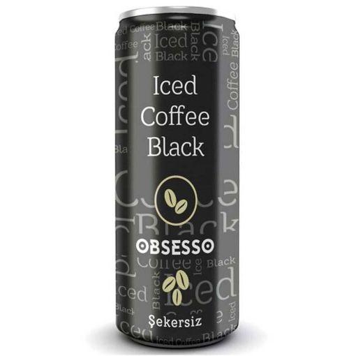 Obsesso Soguk Kahve 250 Ml Black resmi