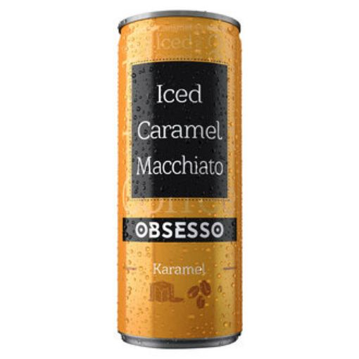 Obsesso Soguk Kahve 250 Ml Macchıato (Karamel) resmi