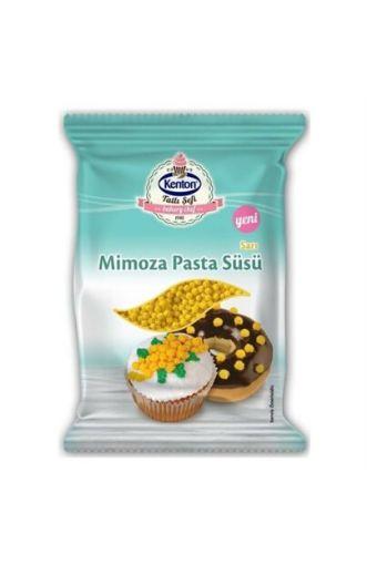 Kenton Mımoza Pasta Süsü Sarı resmi