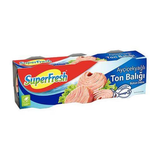 SUPERFRESH TON BALIGI 3 X 75 GR. KLASIK resmi