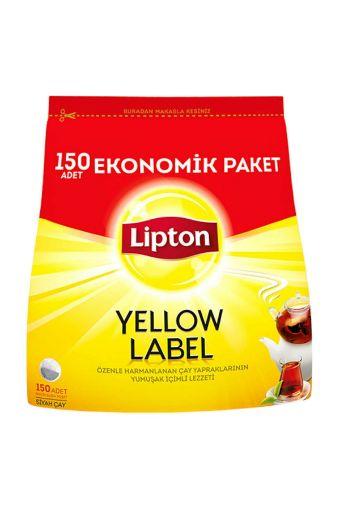 Lipton Yellow Label Demlik Poşet Çay 150'li 480 gr resmi