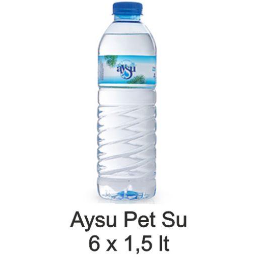 AYSU DOGAL KAYNAK SU 1.5 LT 6 LI PAKET resmi